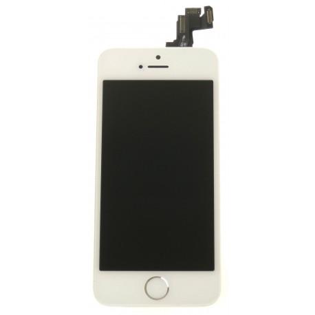 Apple iPhone 5S LCD displej + dotyková plocha + malé diely biela - TianMa