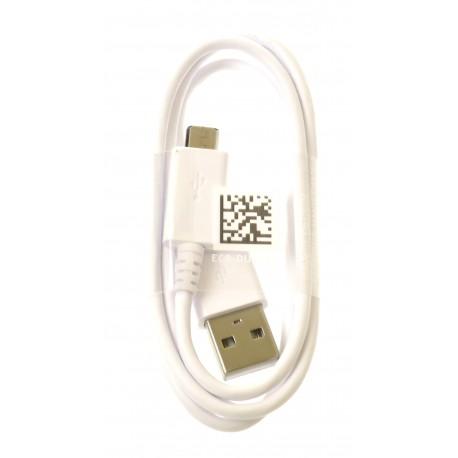 Data cable ECB-DU68WE micro USB white - original