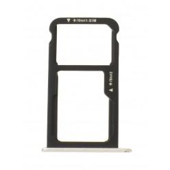 Huawei P9 Lite (VNS-L21) - Držák sim a microSD bílá - originál